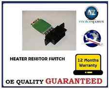 Para Opel Corsa D Mk 3 2007 & gton Calentador interruptor Ventilador resistor Soplador oe 13248240