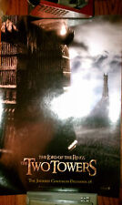 "The Lord Of The Rings The Two Towers 13 1/2"" x 20"" Promo Poster Prestine Rare"