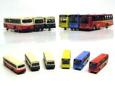 BS150 24pcs Diecast Model Bus Car 1:160 Train Layout  N