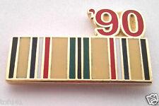 *** DESERT STORM RIBBON 90 *** Military Veteran Hat Pin P12330 EE
