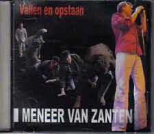 Promo cd single Meneer van Zanten- Vallen en Opstaan