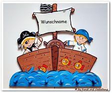 """R.S.  """" Piratenschiff """"- Garderobe"""