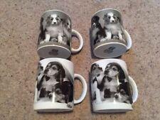 Bundle Job Lot en vrac Set Pack 4 Chien Chiot Animal Nature Faune tasses café thé