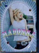 MADONNA - WHAT IT FEELS LIKE FOR A GIRL & MUSIC - (2) DVD SINGLES - STILL SEALED