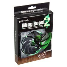 84000000113 Alpenfohn Wing 120mm Boost 2 Plus PWM Fan Toxic Green Case Fan