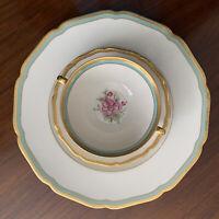 Mismatch Hutschenreuther Bavaria Madeleine Soup Set Royal York Dinner Plate