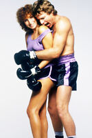 Ryan O'Neal barechested  Barbra Streisand The Main Event 11x17 inch Poster