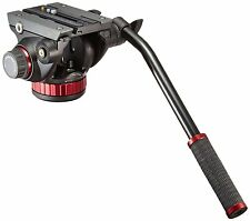 Manfrotto MVH502AH 502HD Pro Flat Base Video Camera Head w/Quick-Release ✔NEW✔