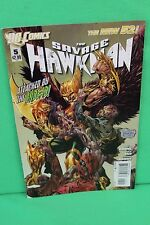 The Savage Hawkman #5 Attacked by Undead Comic Dc Comics New 52 Vf