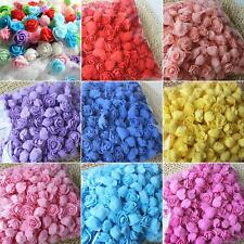 500Pcs PE Foam Rose Head Artificial Flower for DIY Bear Doll Wedding Decor
