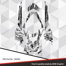 SKI-DOO XP MXZ SNOWMOBILE SLED WRAP GRAPHICS STICKER DECAL KIT 2008-2013 SA0402