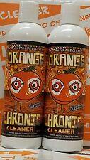 Case of Orange Chronic 12 oz Pipe Glass Hookah Cleaner (x12 Bottles)