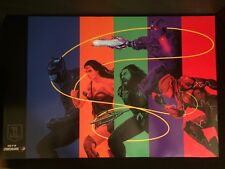 "Justice League (2017) Batman, Wonder Woman, Flash 16"" x 24"" Rolled Film Poster"