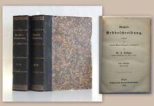 Forbiger Strabo's Erdbeschreibung 8 Bd. in 2 Bücher 1856 Geografie Erdkunde xz