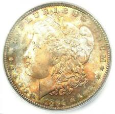 1884-O Morgan Silver Dollar $1 - Certified ICG MS67 - Rare - $2,190 Guide Value!