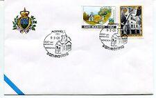 2001-03-09 San Marino 1700° battesimo Armenia Milanofil ANNULLO SPECIALE Cover