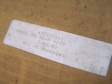 COLEMAN/FLEETWOOD ROADSIDE REAR BODY PANEL 4378