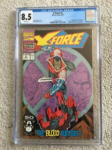 X-Force #2 (Sep 1991, Marvel) CGC 8.5