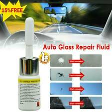 2pc Automotive Glass Nano Repair Fluid Car Window Glass Crack Chip Repair Tools
