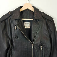 VINTAGE | Legend Leather Australia Womens Black Leather Jacket [ AU 8 or US 4 ]