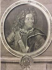 Claude-Louis-Hector de Villars (1653-1734) Maréchal de France XVIIIe Provence