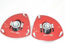 Camber plates for Renault Clio 3 , Nissan Micra 3 adjustable red