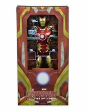 """NECA The Avengers 2 IRON MAN MK 43 1/4 Scale 18"""" Action Figure Age Of Ultron NEW"""