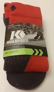 Koldfeet Women's Ski OTC Socks for Shoe Size 7-10.5 M