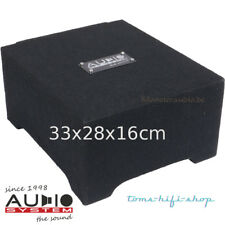 Audio System 20cm R-08 Flat GDF2 250 Watt downfire Subwoofer Mini Kiste R-Series