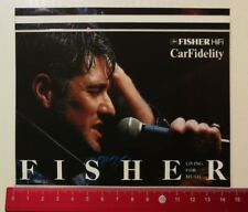 ADESIVI/Sticker: Fisher hi-fi carfidelity (270417152)