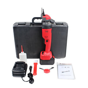18V Rechargeable Wireless Electric Sheep Shears Goat Clippers Farm Supplies 300W
