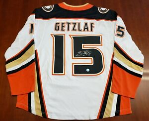 Ryan Getzlaf Anaheim Ducks Fanatics Jersey Autographed