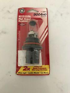 GE LIGHTING 9004 HO Headlight Bulb-HIGH OUTPUT - Single Blister Pack