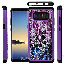 For Samsung Galaxy Note 8 Dual Layer Hard Case Cover Shockproof Diamond Bling