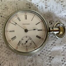 Antique Waltham Pocket Watch Model 1883 1905 17 Jewel Grade 825 Running