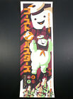 TOM WHALEN L.E. JAPANESE GHOSTBUSTERS STAY PUFT MARSHMELLOW MAN LITHO PRINT