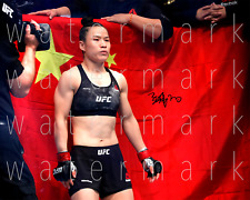 Zhang Weili signed UFC MMA 8X10 poster picture autograph RP