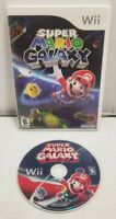 Super Mario Galaxy Nintendo Wii, Original Case, Tested WORKS FREE SHIPPING