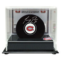 Carey Price Autographed Montreal Canadiens Puck in Acrylic Display Case