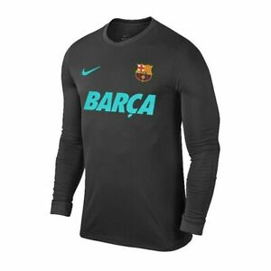 NIKE FC BARCELONA DRY LONG SLEEVE T-SHIRT 2019/20