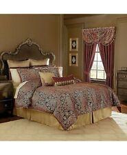 Croscill Roena 4P King comforter Set Red