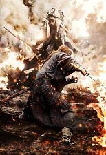 "Rurouni Kenshin Poster Himura VS Shishio Movie Silk Posters Prints 20x30"" RK5"