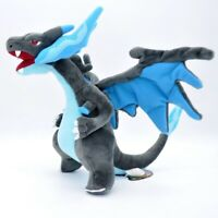 Mega Shiny Charizard X Y Plush Rizadon Dragon Stuffed Toy Cartoon Soft Doll 9""
