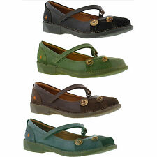The Art Shoe Company 0922 Bergen Womens Mary Jane Leather Shoes Size UK 5