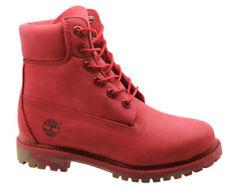 Bottes rouges Timberland pour femme