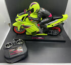 Tyco RC Motorcycle - Superbike w/ Stand & Remote - *NO BATTERY*