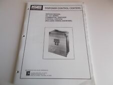 IN-SINK-ERATOR Disposer Control Centers Service Manual CC-101