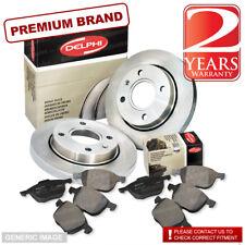 Chrysler Sebring 06-2.0 SLN 139bhp Front Brake Pads Discs 294mm Vented