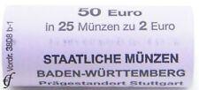 Deutschland Rolle 2 Euro 2008 F Stuttgart