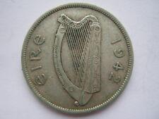 Ireland 1942 silver Halfcrown NVF